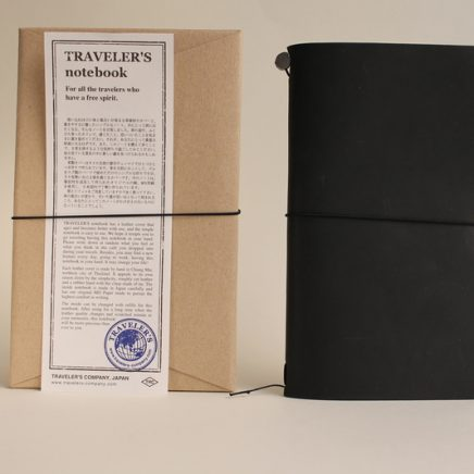 TRAVELLER'S NOTEBOOK BLACK
