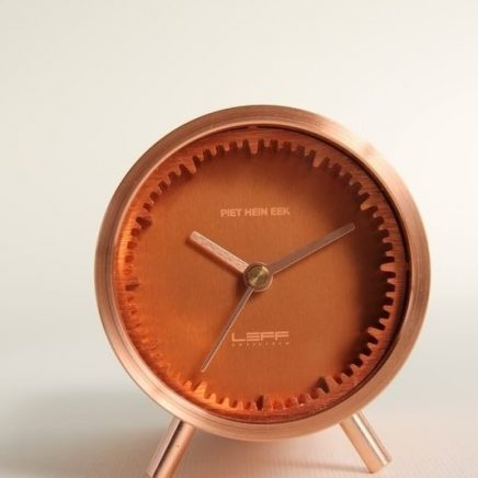 TUBE CLOCK COPPER
