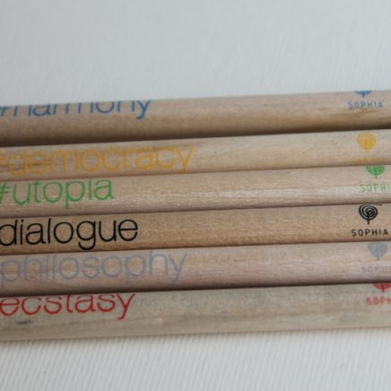 SET OF 6 PENCIL PHILOSOPHIA