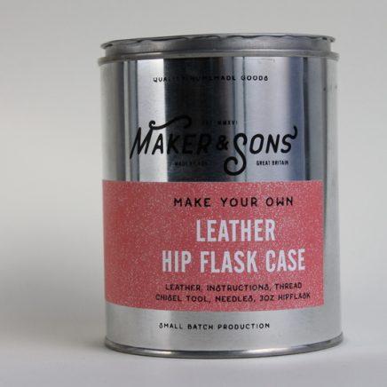 DIY LEATHER HIP FLASK & CASE KIT