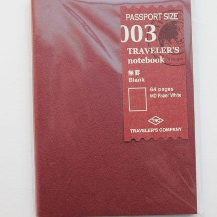REFILL 003 GRID PASSPORT SIZE