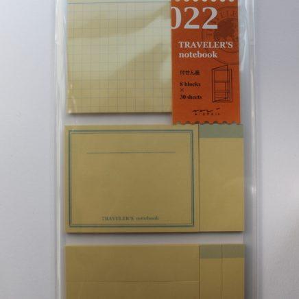REFILL 022 STICKY NOTES REGULAR SIZE