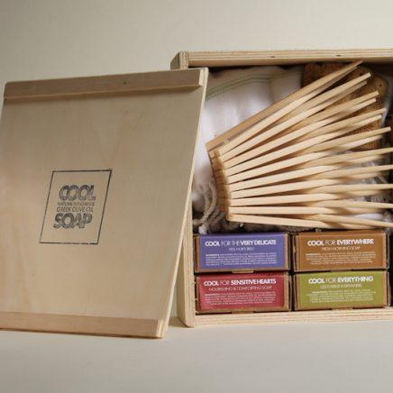 COOL SOAP WOODEN BOX MEDIUM